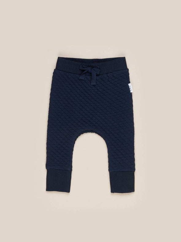 Midnight Stitch Drop Crotch Pants