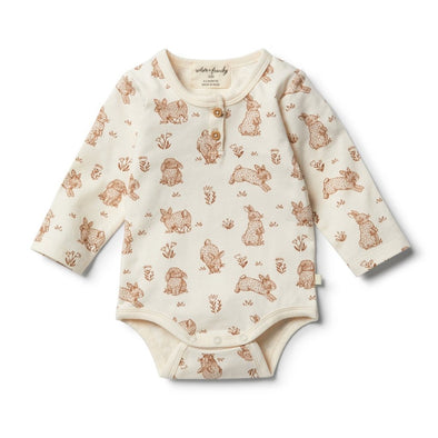 Organic Body Suit - Little Hop