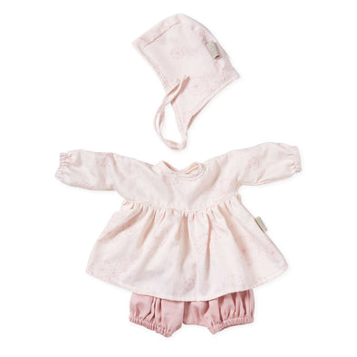 Dolls Clothing Set & Bonnet- Dandelion
