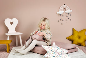 Baby Wave Play Mattress -Dusty Rose