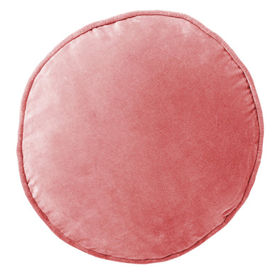 Smokey Pink Velvet Pea Cushion