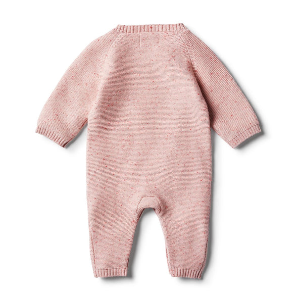 Chilli Fleck Knitted Growsuit