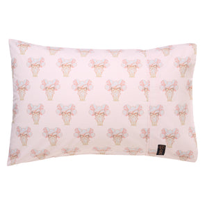 MAY GIBBS X KIP&CO PRETTY LADY PINK SINGLE PILLOWCASE