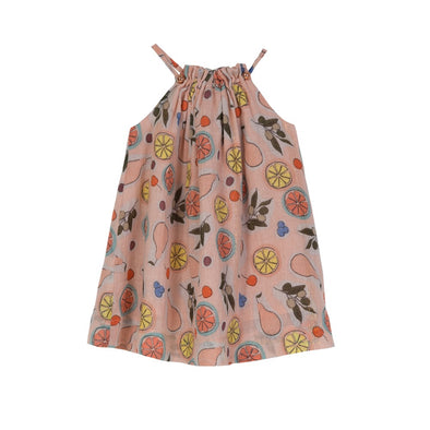 Elise Swing Dress Fruit Basket