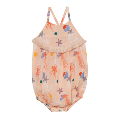 Adeline Sea Creatures Playsuit