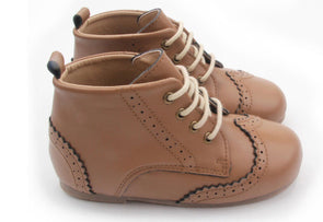 Cambridge Brogue Boot Chestnut