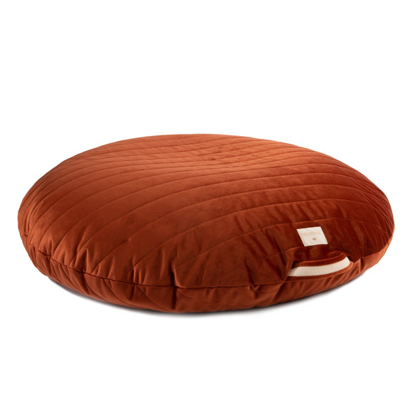 SAHARA VELVET BEANBAG - Wild Brown DUE END OCT