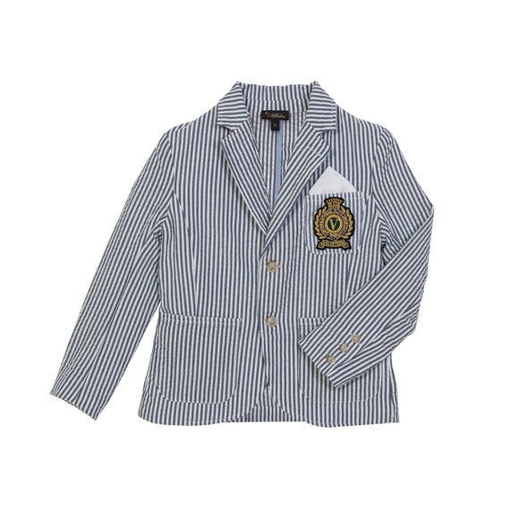 Piers Blue Stripe Blazer