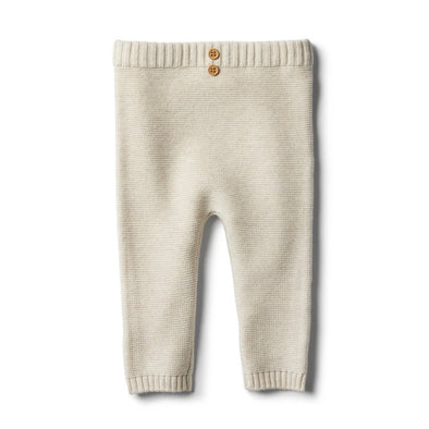 Oatmeal Knitted Legging