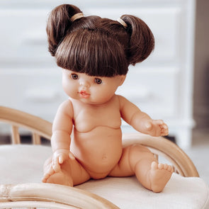 Gordis Doll Brunette Girl brown eyes