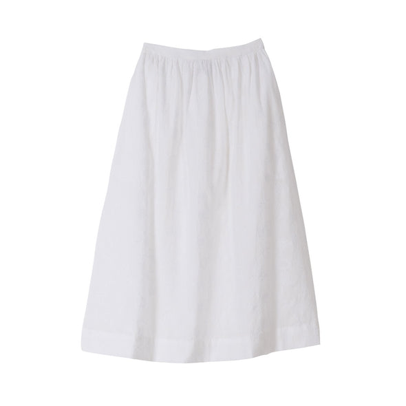 Chanelle Maxi Skirt White Voile