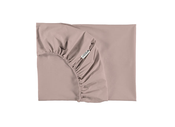 SINGLE FITTED SHEET - DREAM PINK
