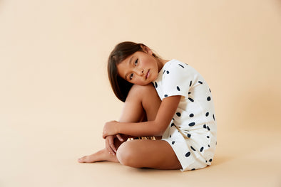 Organic Speckled Spots PJ Set