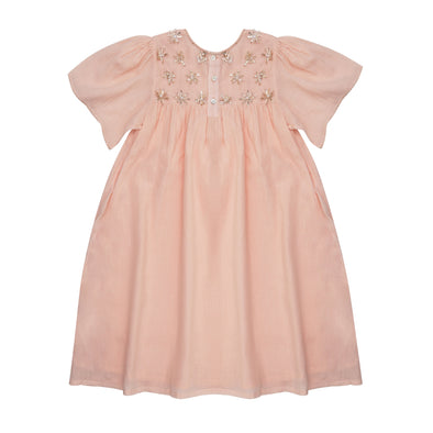 Priya Dress- Peach