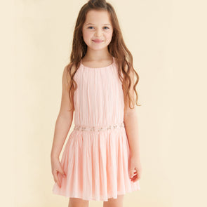 Andrea Dress- Peach
