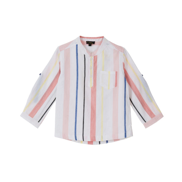Nitin Top Cotton Candy Stripes