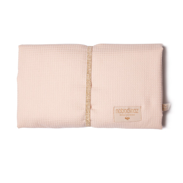 Mozart Waterproof Changing Mat Misty PINK