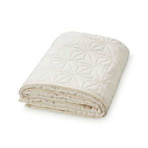 Baby Signature Quilt -Cream White