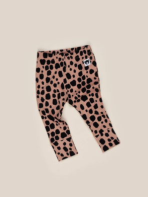 OCELOT RIB LEGGINGS TERRACOTTA