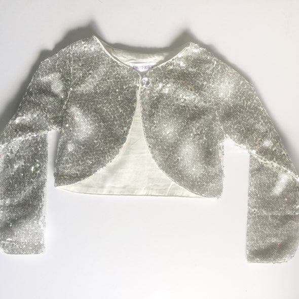 Limited Edition Galaxy Cardigan Silver Moon