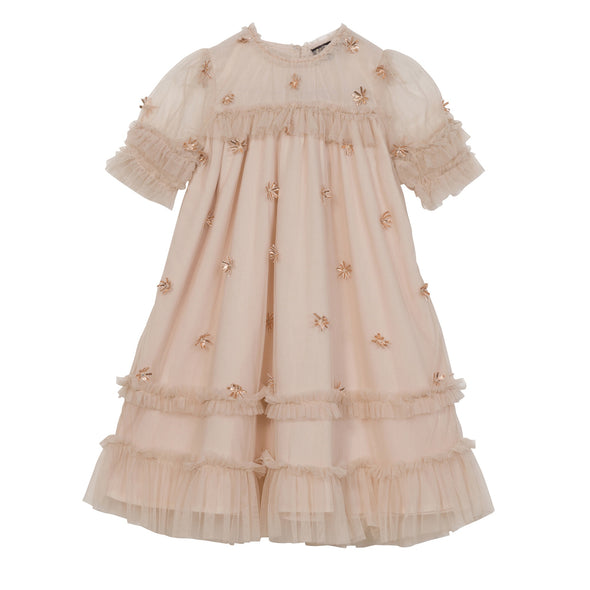 Laylani Dress- Embroiled Blush