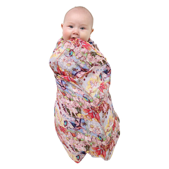 MAY GIBBS X KIP&CO THE SWEET BABES SINGLE SWADDLE