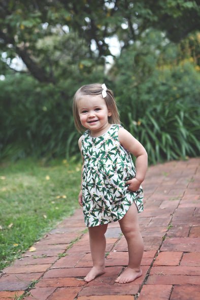 The Sophie Dress- Eucalypt