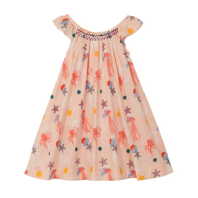 Isabella Dress - Sea Creatures