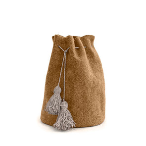 Deluxe High Calabash Santa Sack with Tassles -Mangrove