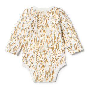 Organic Body Suit -Little Vine L/S