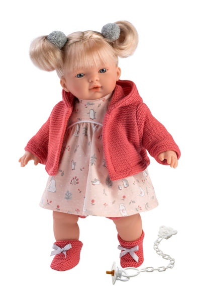 Llorens Spanish Doll -Aitana Crying Baby Doll 2