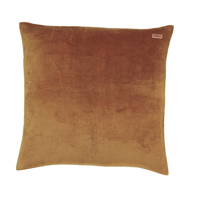 Euro Cushion Cover -Scorched Almond Velvet