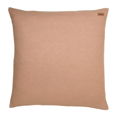 Pillow Case -Peach Nougat Linen Euro
