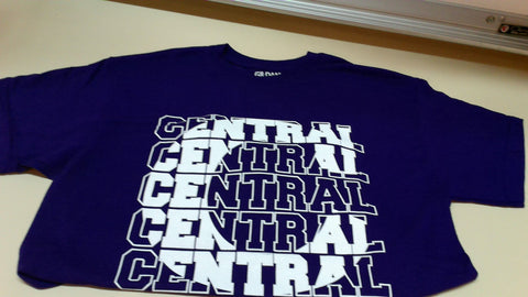 Central 'C' Short Sleeve T-Shirt