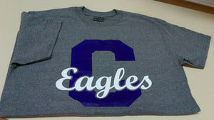 Central Eagle Gray T-Shirt