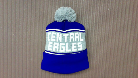 Central Stocking Cap with Pom