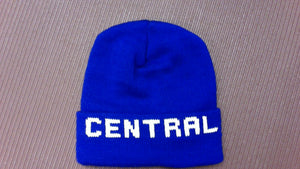 Stocking Cap with Knitted in Logo