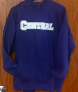 Central Embroidered Hoodie