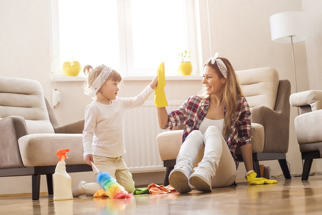 How to Keep Your House Clean and Organized with Toddlers