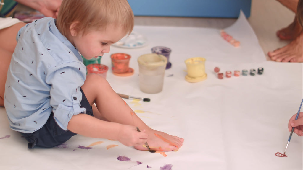 Art Projects for Toddlers are No Match for Lilladu Exchange