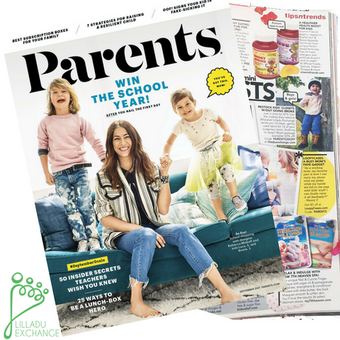 "Featured in Parent's Magazine September 2017 as ""Mom & Mini's Must Have"" Services"