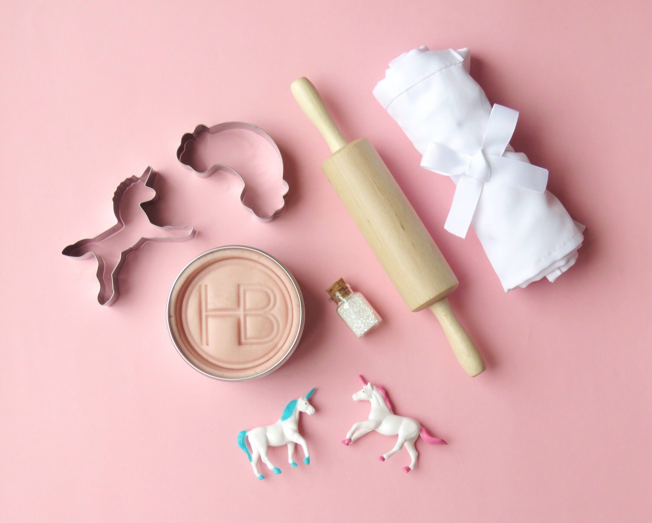 Unicorn 'Biscuit Making' Box