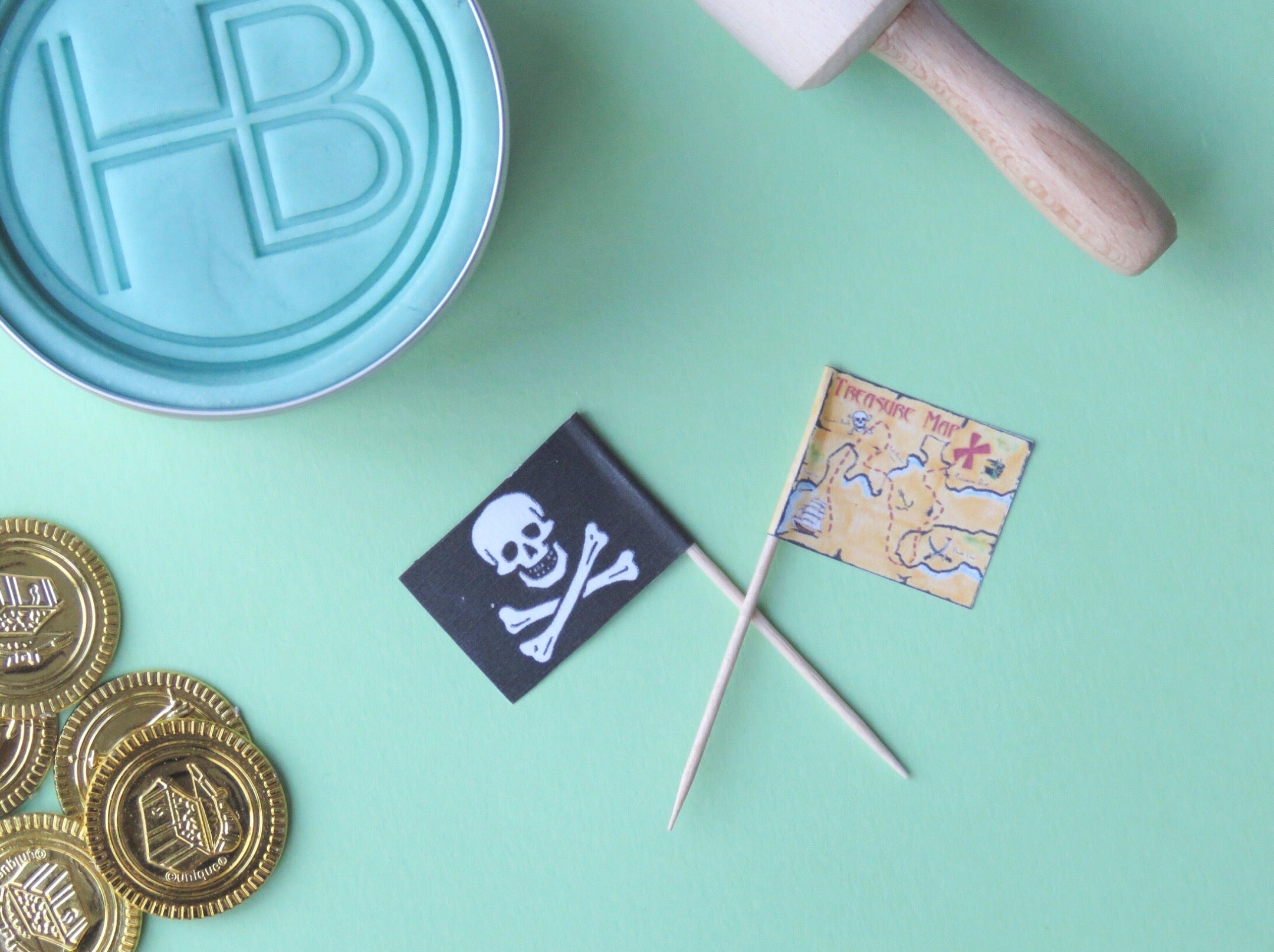 Pirate 'Biscuit Making' Box