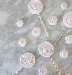 Meringue Pops + Roses Kit (pink)