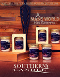 Moonshine Clean Air 8 oz Heritage Jar Scented Candle - Southern Candle