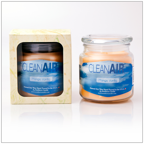 Clean Air Original Scent - 16oz Decorator Jar Scented Candle