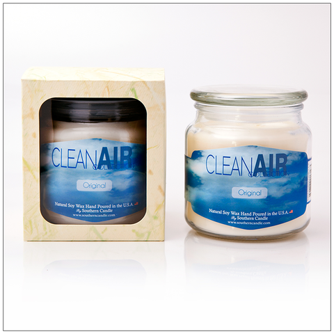 Clean Air Cinnaberry - 8oz Classic Jar Scented Candle