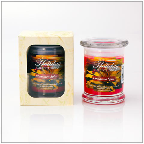 Candy Cane - 16oz Decorator Jar Scented Candle