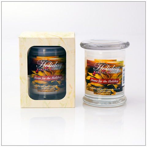 Home For the Holidays - 16oz Decorator Jar Scented Candle