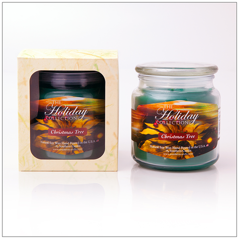 Mistletoe - 16oz Decorator Jar Scented Candle